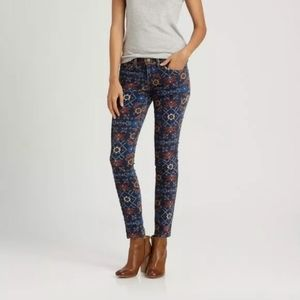 Current/Elliot | Midnight Tapestry Skinny Ankle